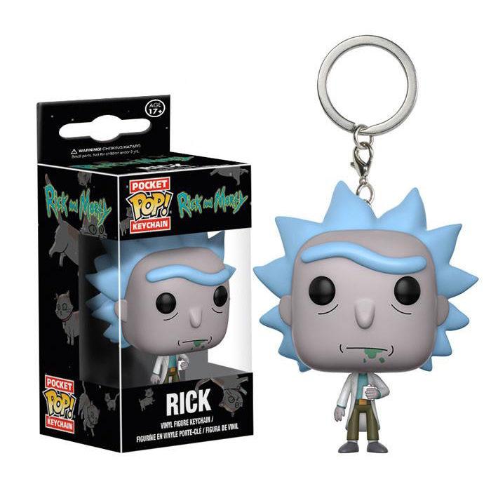 Rick Pocket Pop Keychain