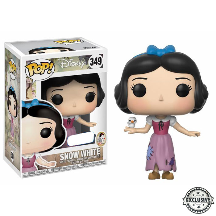 Snow white maid outfit exclusive funko pop