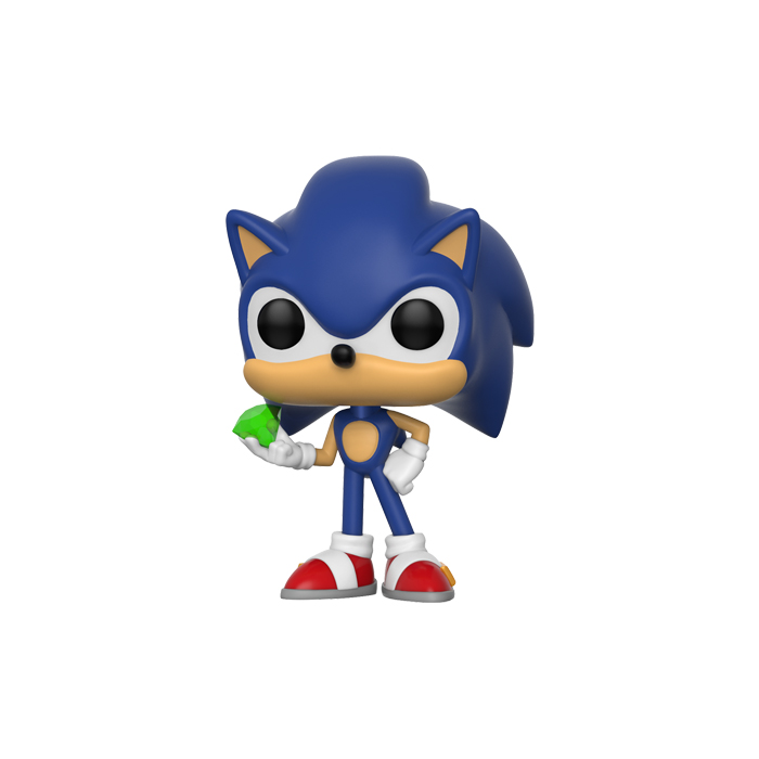 Sonic with Emerald Funko Pop