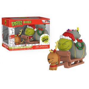 The Grinch and Max with Sleigh Dorbz Ridez