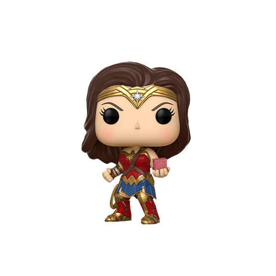 Wonder Woman with Mother Box Funko Pop