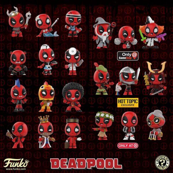 Deadpool Mystery Minis