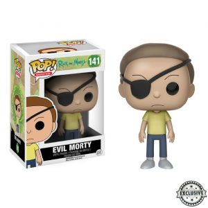 Evil Morty Exclusive Funko Pop