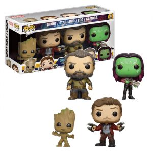 Guardians of the Galaxy 4-pack Funko Pop