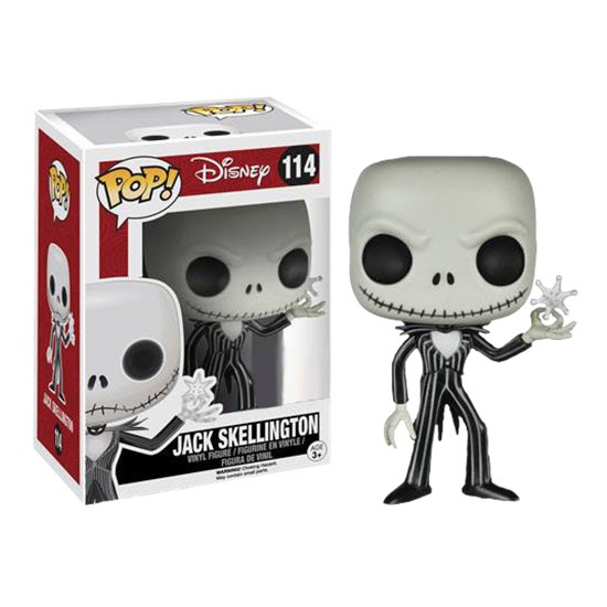 Jack Skellington with Snowflake Funko Pop