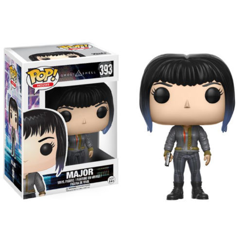 Major with Bomber Jacket Funko Pop