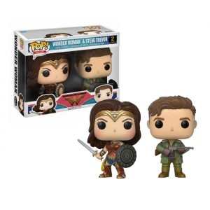 Wonder Woman and Steve Trevor Funko Pop