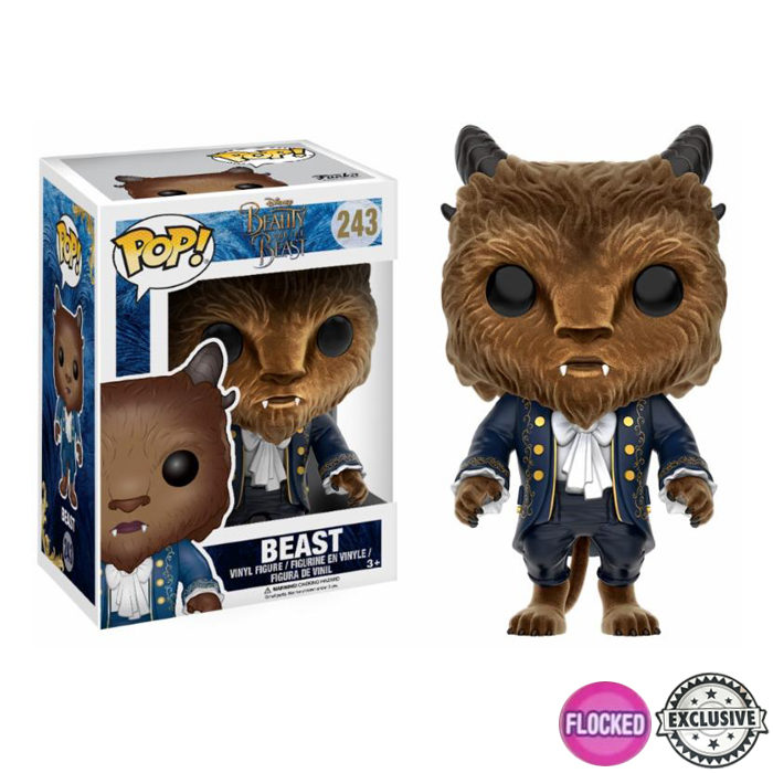 Beast Flocked Funko Pop