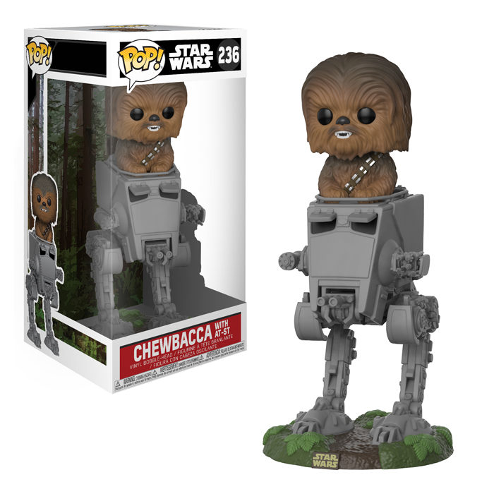 Chewbacca with AT-ST Funko Pop