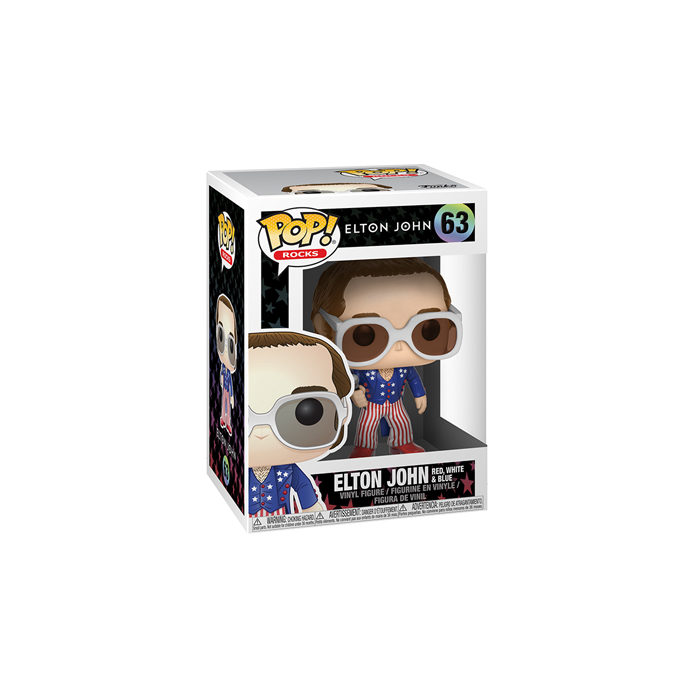 Elton John Red White Blue Funko Pop