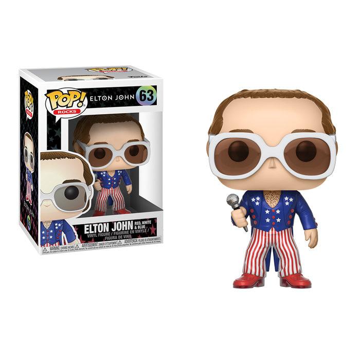 Elton John Red White Blue Funko Pop