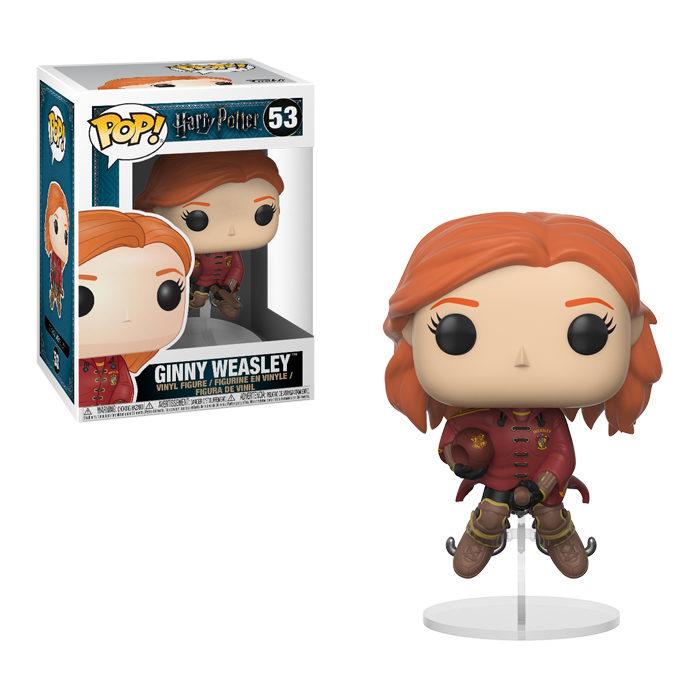 Ginny Weasley on Broom Funko Pop