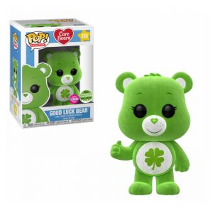 Good Luck Bear Flocked ECCC Funko Pop