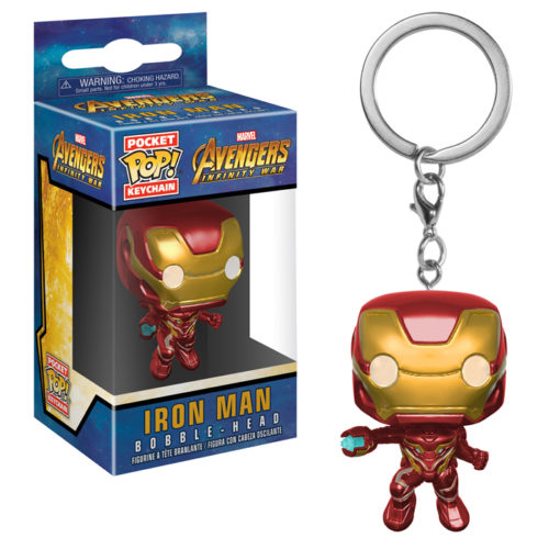Iron Man Pocket Pop Keychain