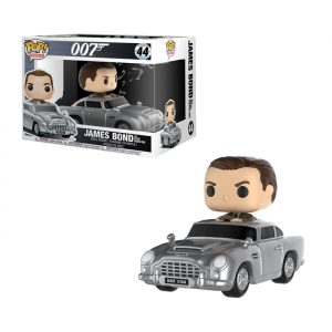 James Bond with Aston Martin Funko Pop Rides