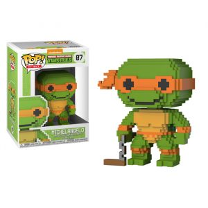 Michelangelo 8-Bit Funko Pop