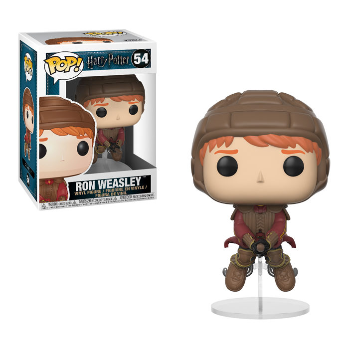 Ron Weasley on Broom Funko Pop