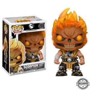 Scorpion Flaming Skull Funko Pop