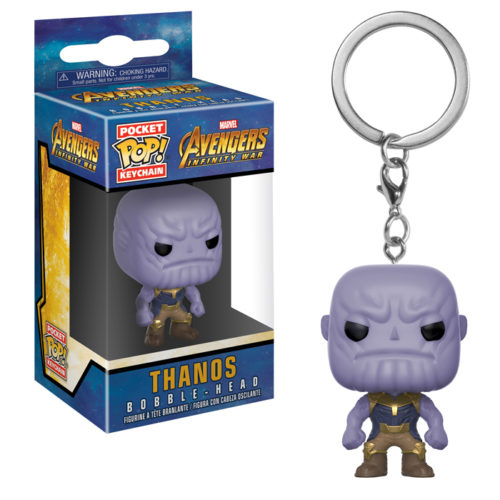 Thanos Pocket Pop Keychain