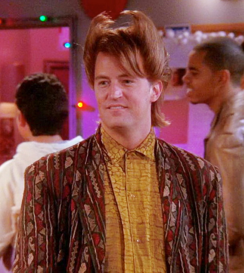 80s haircut Chandler