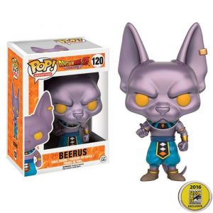 Beerus Metallic SDCC Funko Pop
