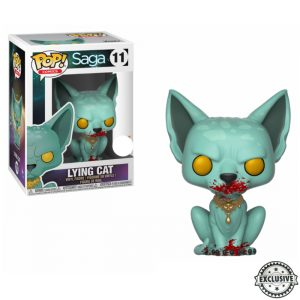 Lying Cat Exclusive Funko Pop