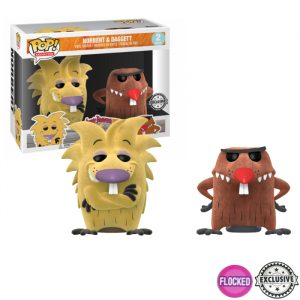 Norbert and Daggett Flocked Funko Pop 2pac