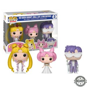 Sailor Moon Funko Pop 3pack