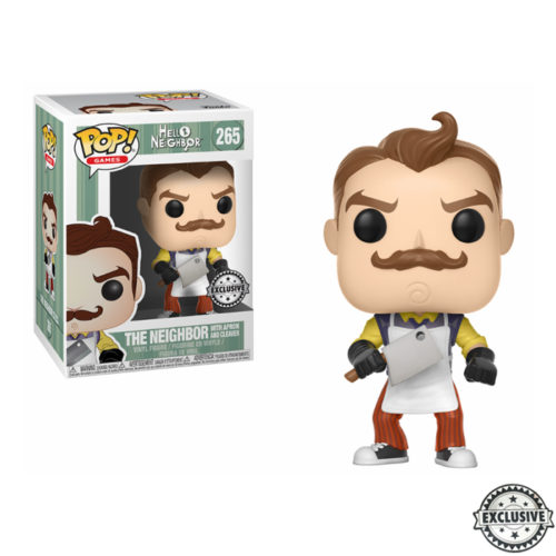 The Neighbor with Apron and Meat Cleaver Funko Pop