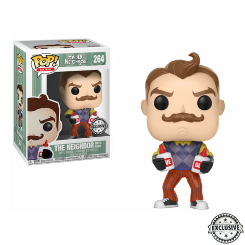 The Neighbor with Glue Funko Pop