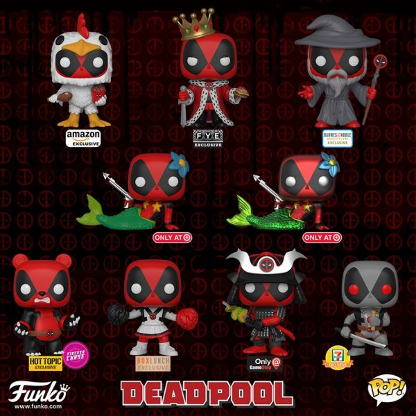 Deadpool 2 USA Store exclusives