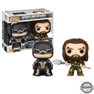 Batman and Aquaman Funko Pop 2-pack