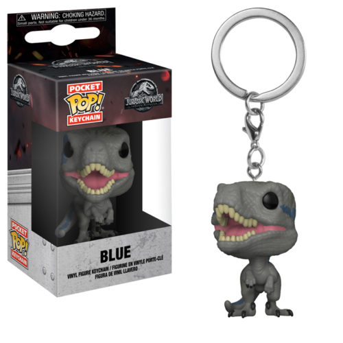 Blue Pocket Pop! Keychain