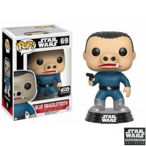 Blue Snaggletooth Funko Pop