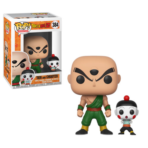 Chiaotzu and Tien Funko Pop