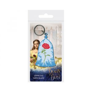 Enchanted Rose Keychain