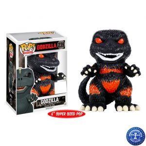 Godzilla Burning Super Sized Funko Pop