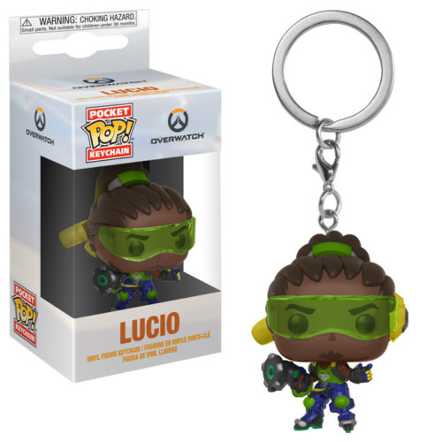 Lucio Pocket Pop Keychain