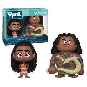 Moana and Maui Vynl Funko