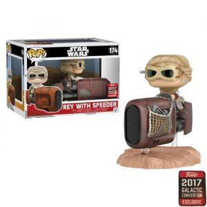 Rey with Speeder Funko Pop