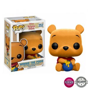 Seated Poof Flocked Funko Pop