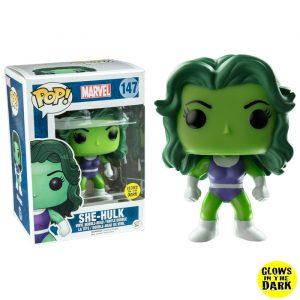 She-Hulk GITD Funko Pop