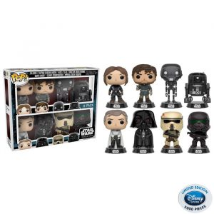 Star Wars Rogue One 8-Pack Funko Pop