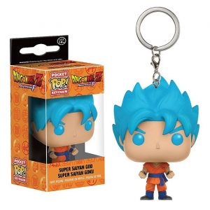 Super Saiyan God Super Saiyan Goku Pocket Pop Keychain