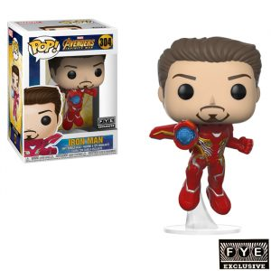 Unmasked Iron Man Funko Pop