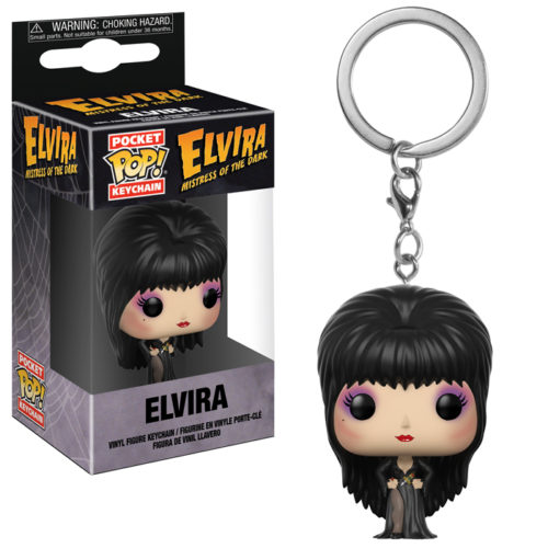 elvira pocket pop keychain
