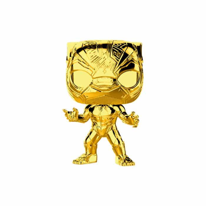 Black Panther Gold Chrome Funko Pop