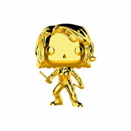 Black Widow Gold Chrome Funko Pop
