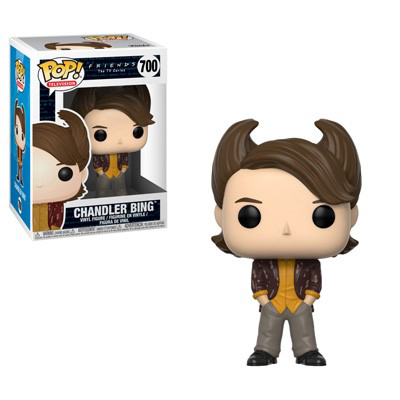 Chandler Bing 80s Hair Funko Pop