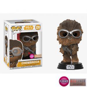 Chewbacca Goggles Flocked Funko Pop